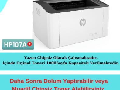 HP 107W Yazıcı Resetleme