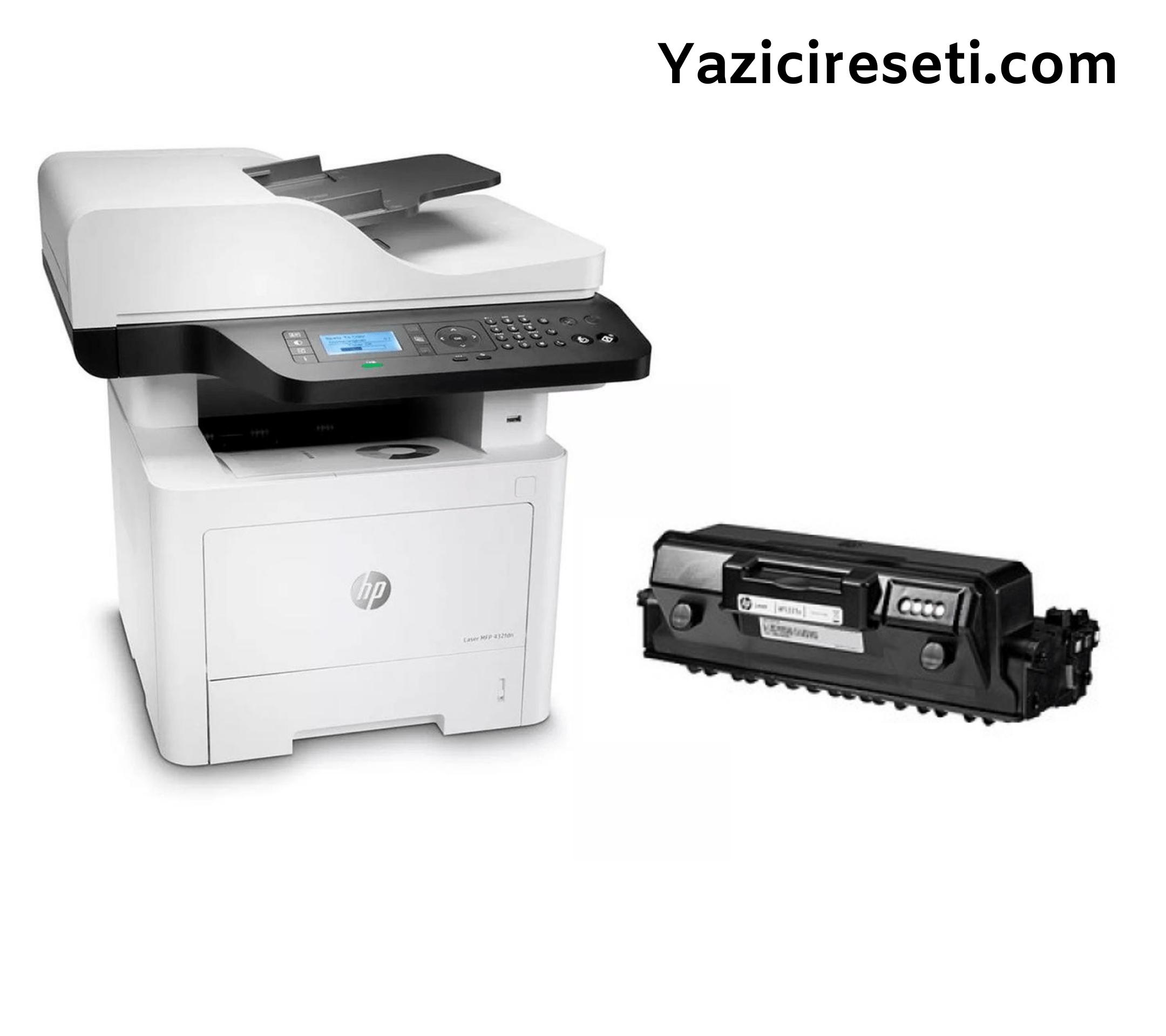 HP Laser MFP 432fdn Yazıcı Resetleme