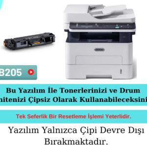 Xerox B205 Yazıcı Resetleme