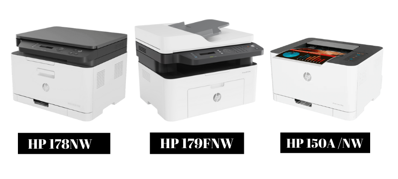 HP 178NW 179FNW 150NW