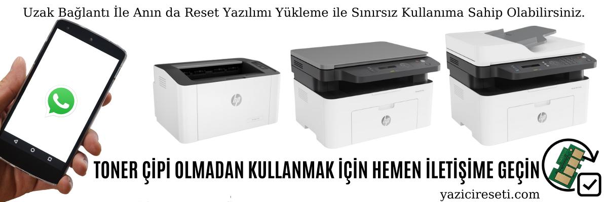 HP Yazıcı Resetleme